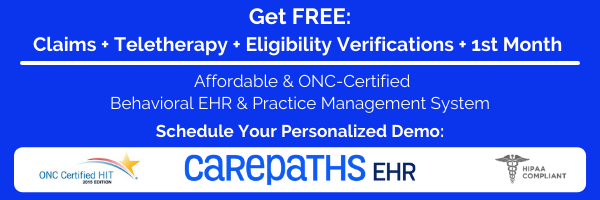 Request free CarePaths EHR demo.